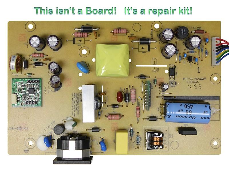 Repair Kit Capacitors Model: 470-5-10-1-8CA for Power Supply ILPI-298 V.A. P/N 790LA1400800R